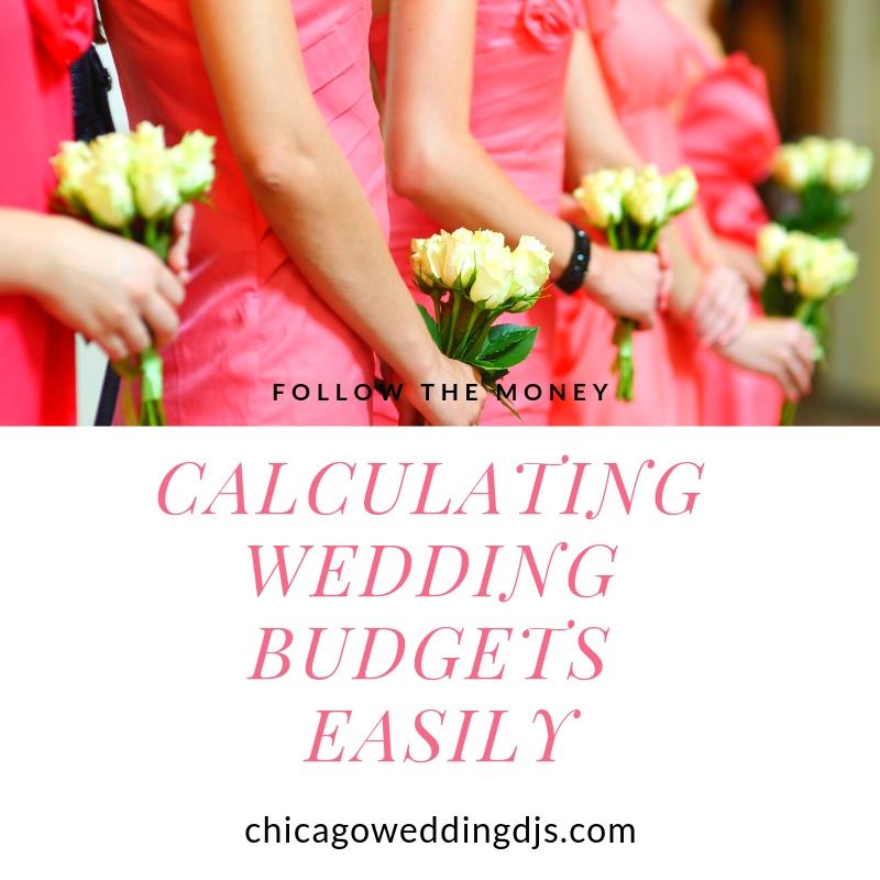 Calculating Wedding Budgets Easily-Money