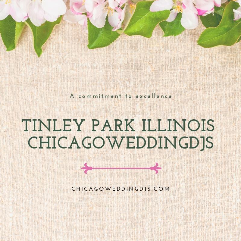 TINLEY PARK ILLINOIS CHICAGOWEDDINGDJS