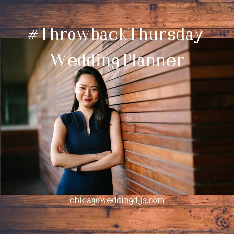 Throwback Thursday Wedding Planner