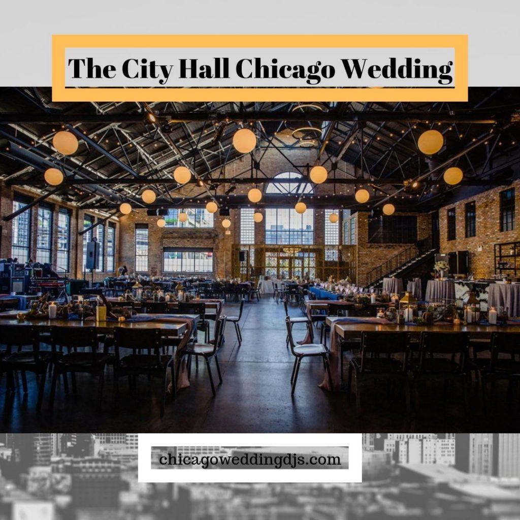 The City Hall Chicago Wedding